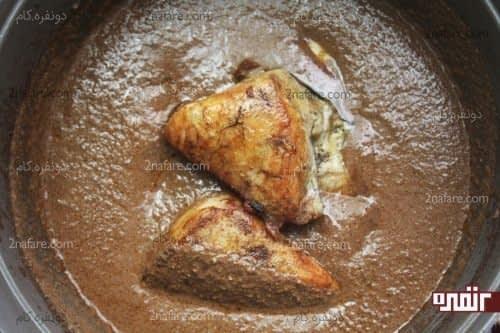 اضافه کردن مرغ ها