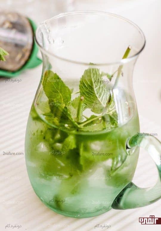 برای رفع عطش در دوران روزه داری از شربت نعناع استفاده کنید