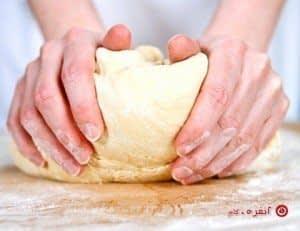 خمیر پیتزا