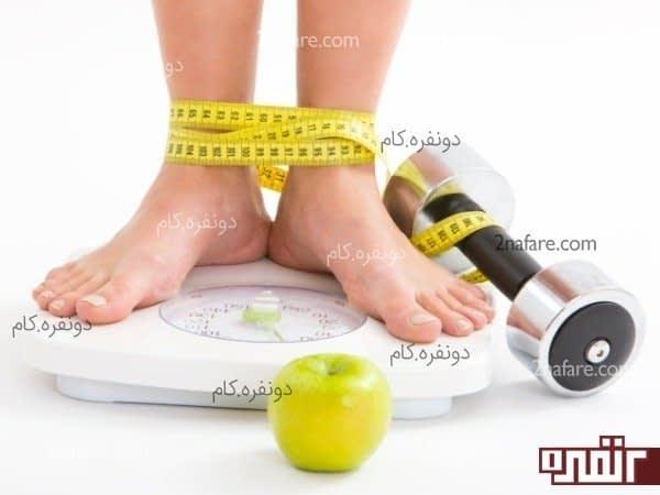رژیم لاغری وعده های غذایی