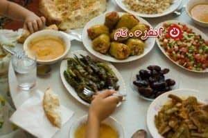 سفره رمضان