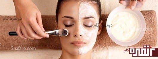 سفید و درخشان کردن پوست