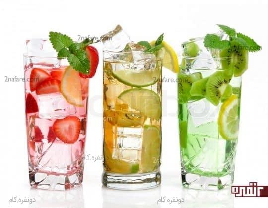 طرز تهیه ی نوشیدنی های خنک برای فصل تابستان