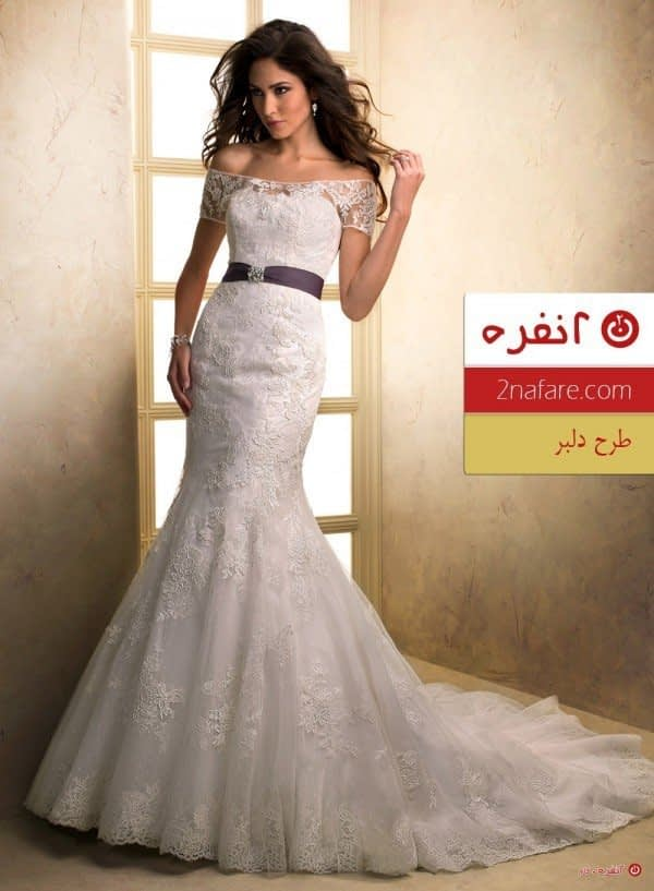 لباس عروس طرح دلبر