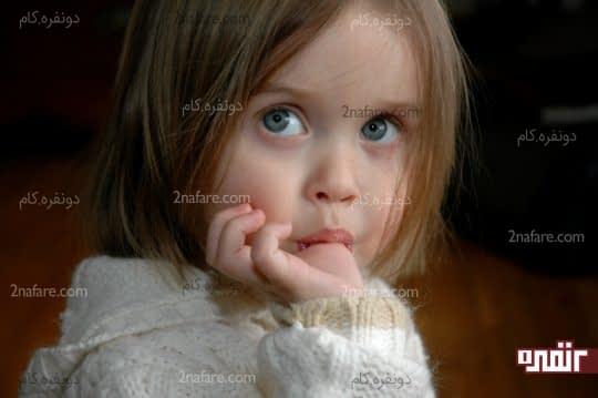مکیدن انگشت در کودکان