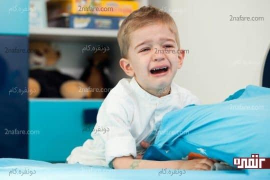 هیچگاه بعد از شب ادراری کودک را تنبیه نکنید