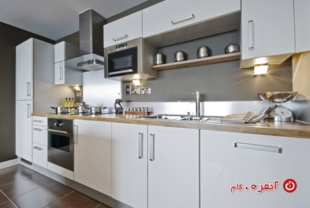 آشپزخانه تک دیواره