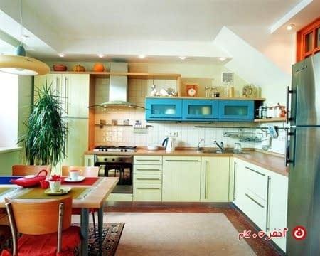 آشپزخانه L شکل