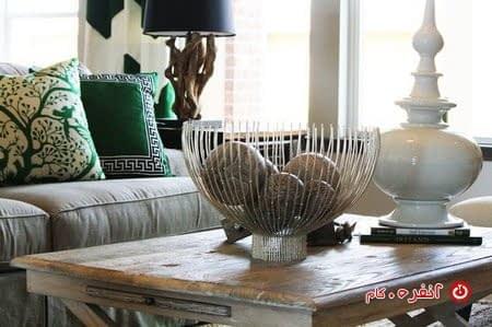 استفاده از تزیینات سبز در خانه