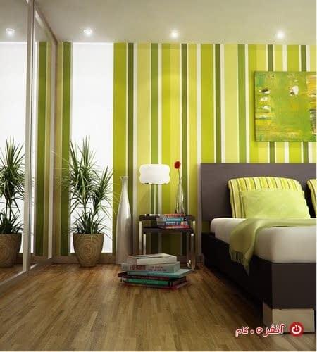استفاده از رنگ در دکوراسیون اتاق خواب