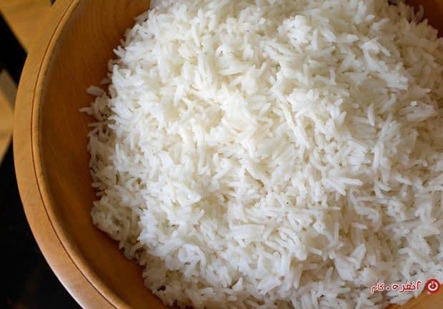 انتخاب و پخت برنج
