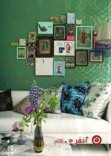 ترکیب سبز با رنگهای دیگر