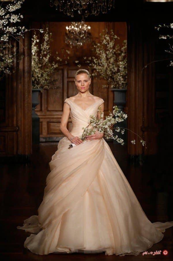دامن زیبا برای لباس عروس