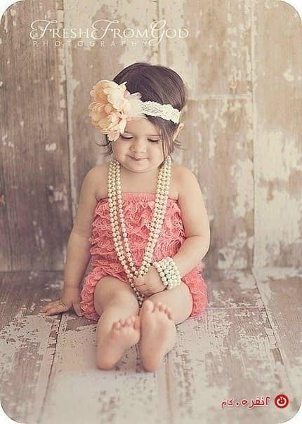 دختر کوچولوی خوشگل