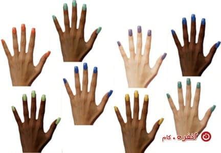 رنگهای مختلف برای پوستهای مختلف