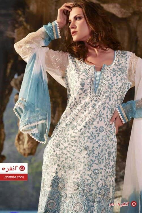 لباس سنتی ریزکاری شده