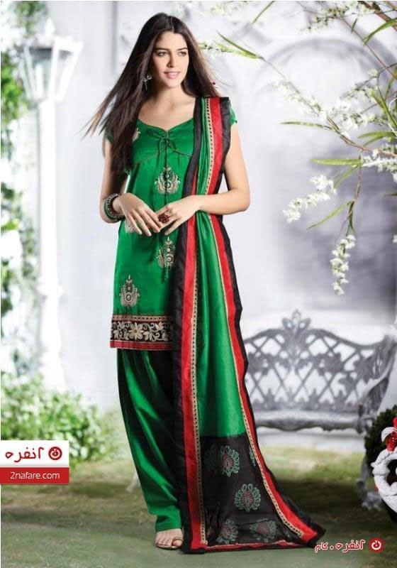 لباس سنتی سبز