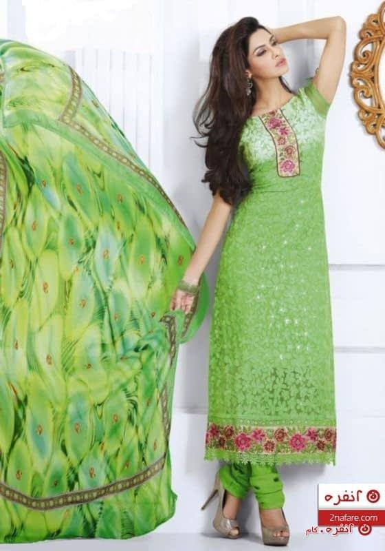 لباس سنتی طرح شکوفه