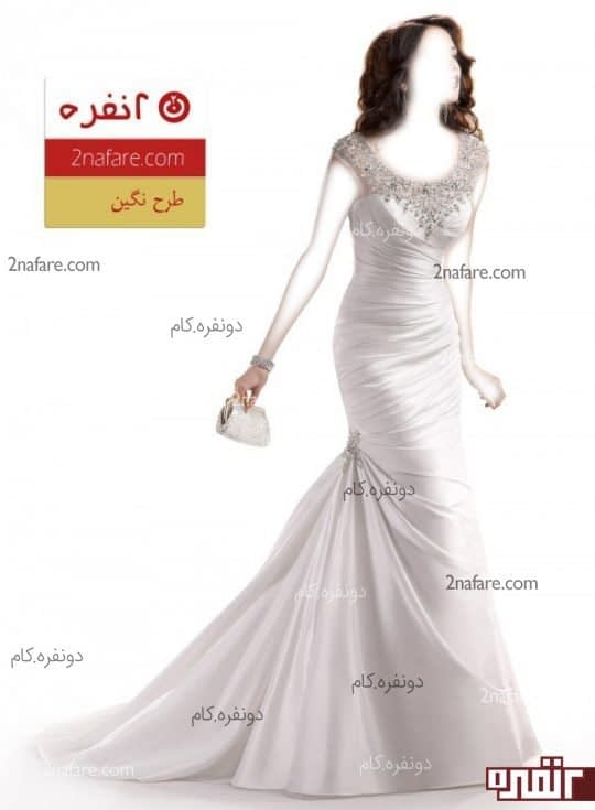 لباس عروس مدل نگین
