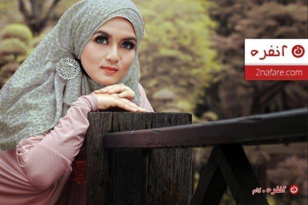 مدل حجاب بستن روسری