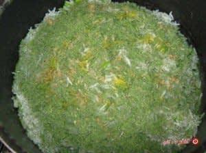 پختن سبزی پلو