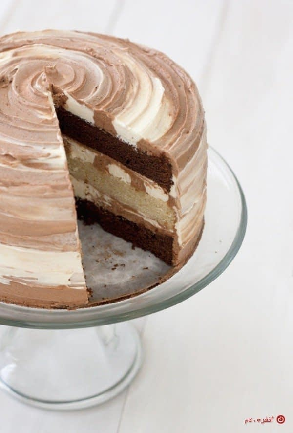 تزیین کیک آسان