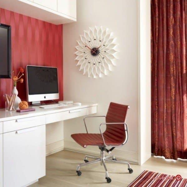 قرمز و سفید در دکوراسیون داخلی