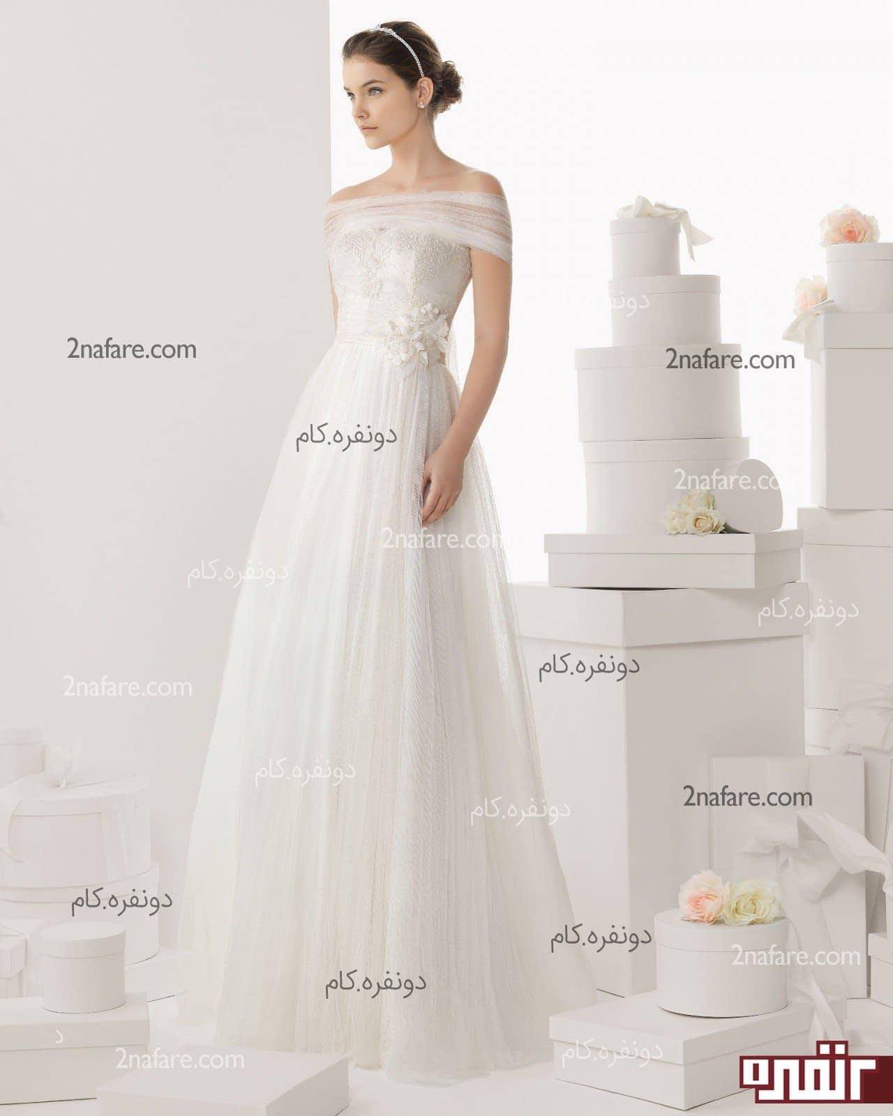 عکس+لباس+عروس+آستین+سه+ربع