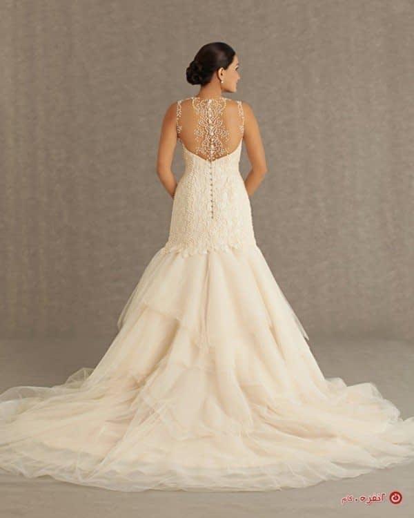 لباس عروس مدل ماهی دنباله دار
