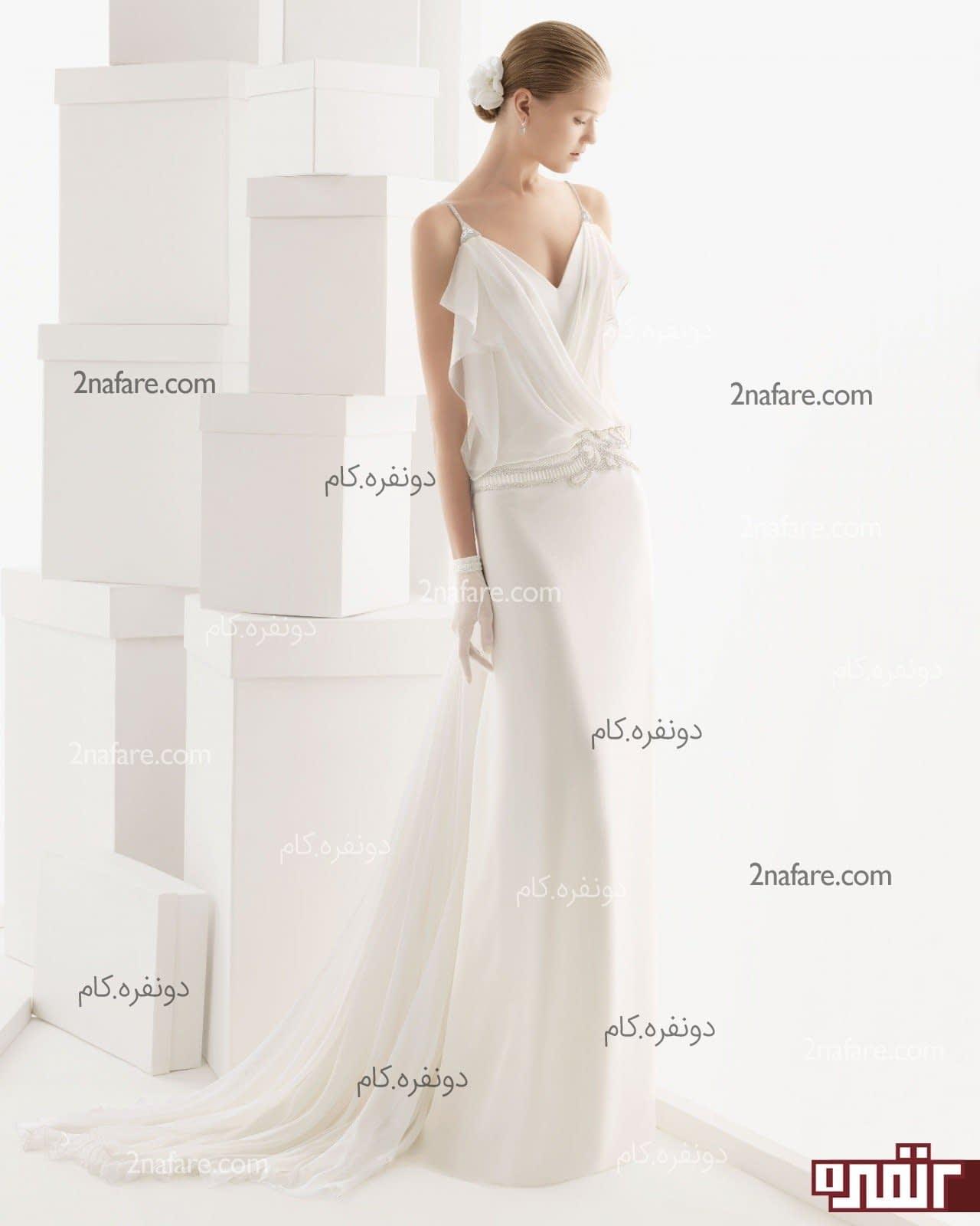لباس مجلسی یقه هفت