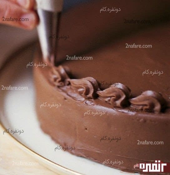 ماسوره برای تزیین زیبای کیک