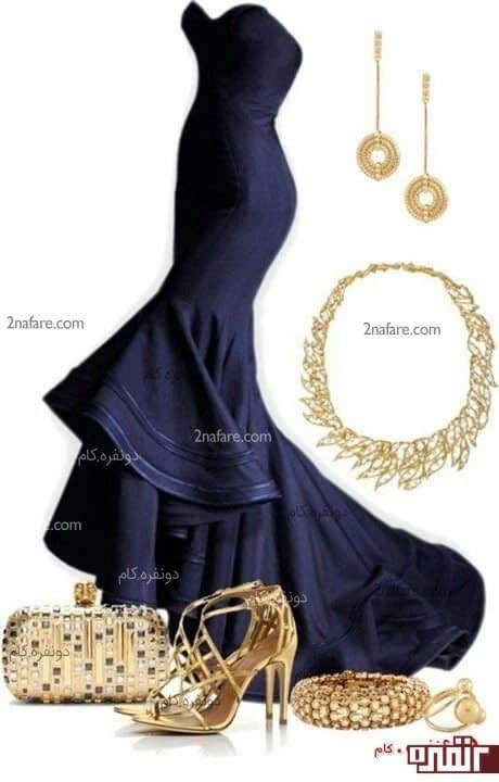 مدل جدید لباس مجلسی فشن 2013