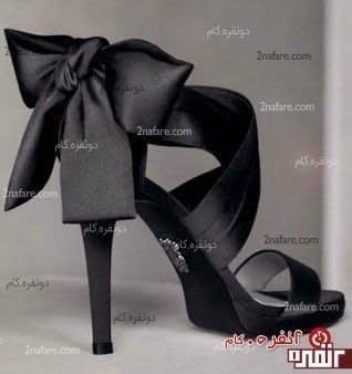 مدل کفش مجلسی پاپیون دار