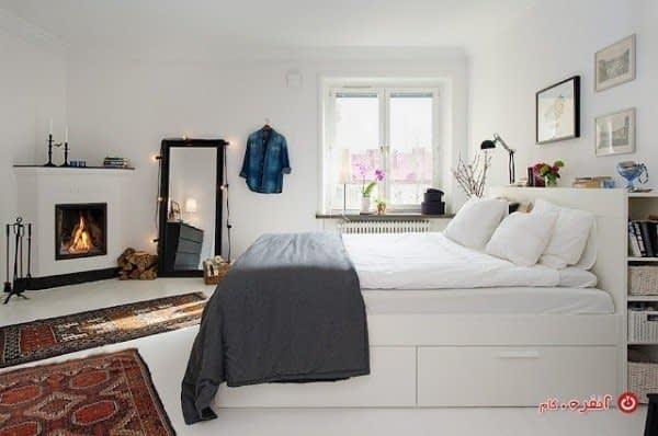 ایجاد آرامش در دکوراسیون اتاق خواب