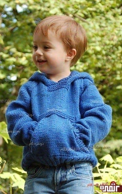 بافت زیبای پسرونه برای بچه ها