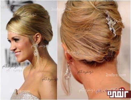 مدل مو برای عروس