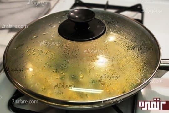 پخت با حرارت ملایم ذرت مکزیکی