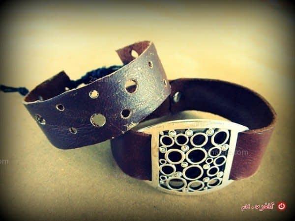 آموزش ساخت دستبند چرمی