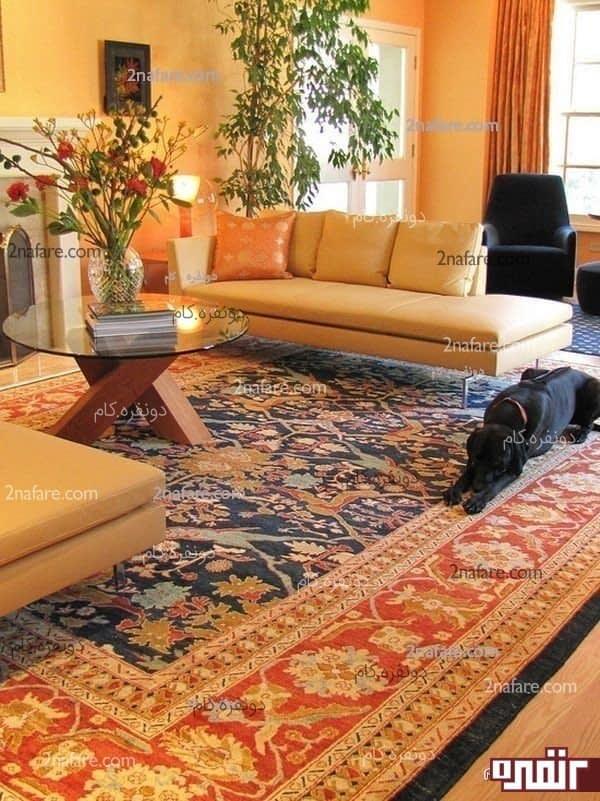استفاده از فرش در دکوراسیون خانه