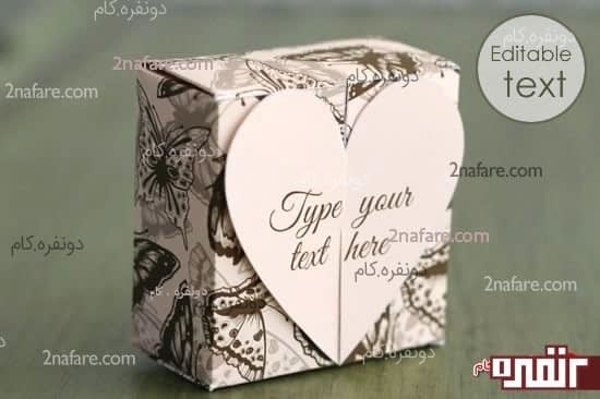 جعبه کادوی قلب