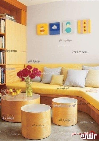 دکوراسیون داخلی یک خانه کوچک