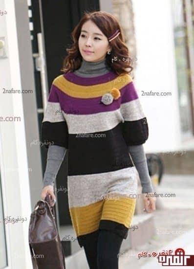 لباس بافت جدید و زیابا برای زمستان