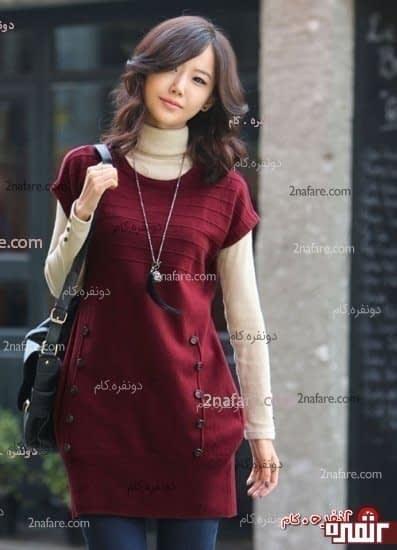 لباس بافت زیبا و جدید