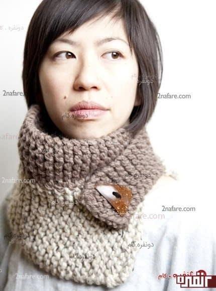 مدل جدید شال گردن برای زمستان