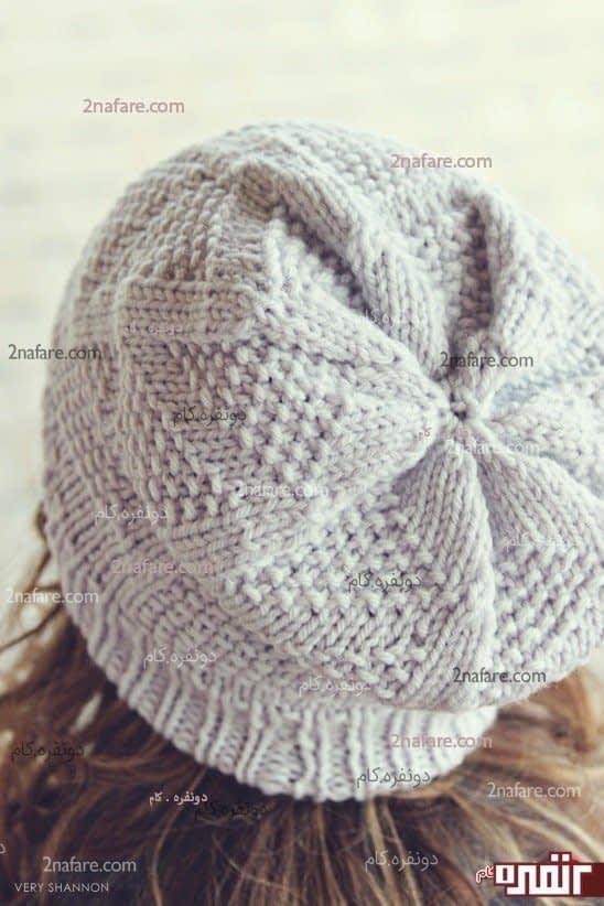 مدل زیبای کلاه بافتنی