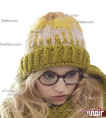 مدل شال و کلاه زیبا