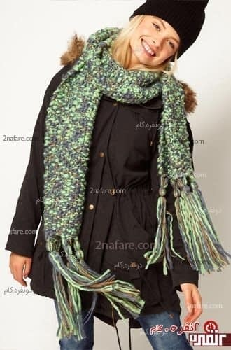 مدل شال گردن برای زمستان