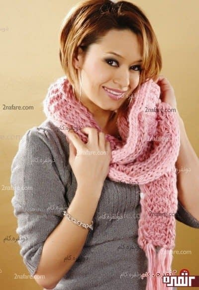مدل شال گردن زیبا برای زمستان