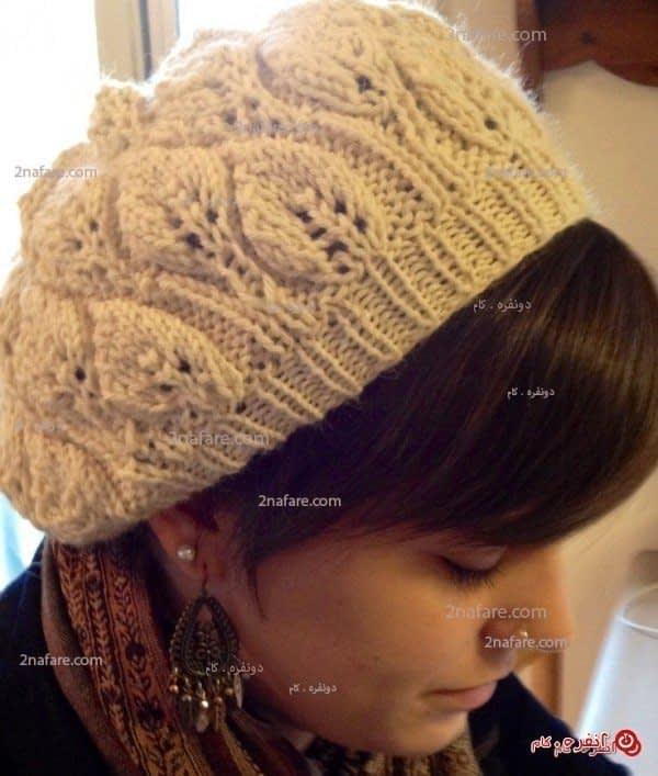 مدل کلاه بافت زیبا