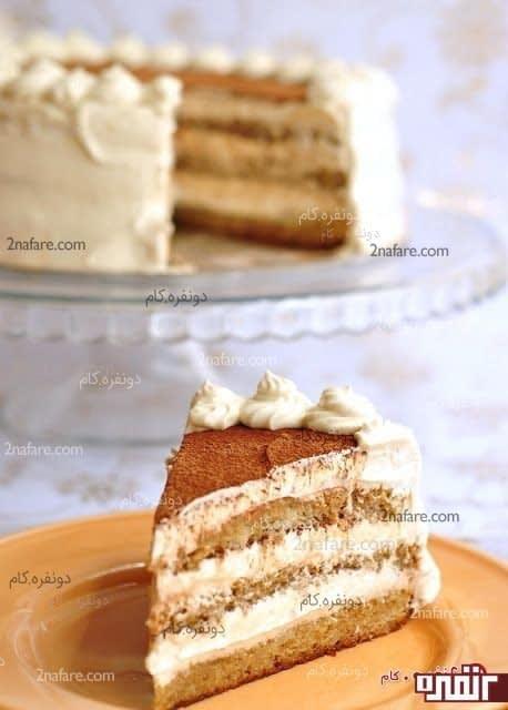 تیرامیسو با کیک